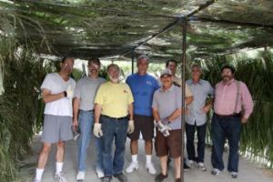 The Sukkah Building Team 2009