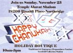 Chanukah Boutique 2014