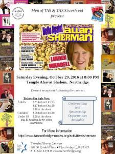 Allan Sherman Tribute Show at TAS