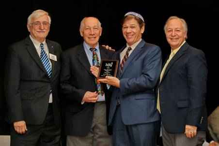 Frank Soronow Received MRJ Man of the Year Award