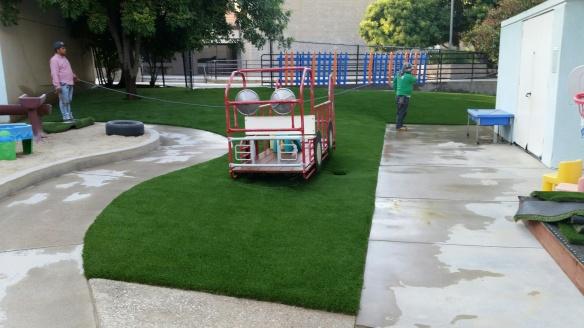 New TAS Playground Artificial Turf - 2019-05-24