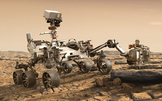 Perseverance Rover with Mars Helicopter