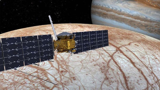 Europa mission visualization