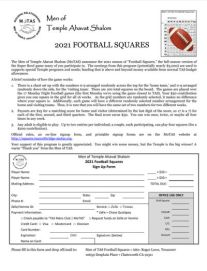 2021-Football-Squares